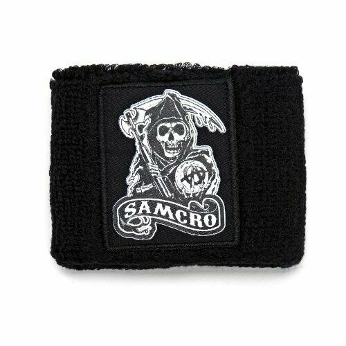 2019 Neuestes Design Sons Of Anarchy (samcro) - Reaper - Offiziell Herren Armband (schweißband)