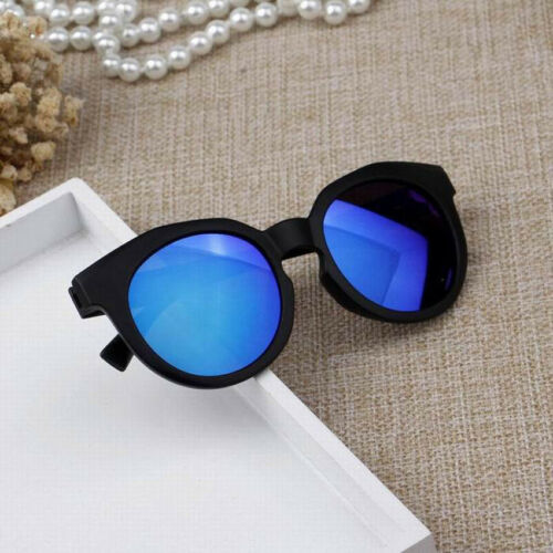 Children Reflective Sunglasses Meta Color Anti-UV Eye Protecetive Shades Glasses