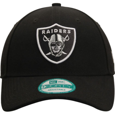 b40bbf7228e Oakland Raiders Black Era 9forty First Down Adjustable Hat for sale ...