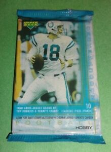 2000-Upper-Deck-Football-Hobby-Pack-Fresh-from-Box-Brady-RC-Year