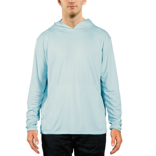 Protection Performance Long Sleeve Hoody Vapor Apparel Men/'s UPF 50 UV Sun