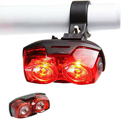 5LED Rear Tail Safety Flashing Bright Red Light for Cycling Bike Bicycle Stand