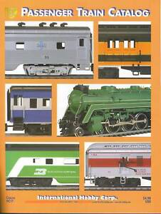 HO IHC HOBBY CORP CATALOG #17 PASSENGER TRAIN FOR SALE