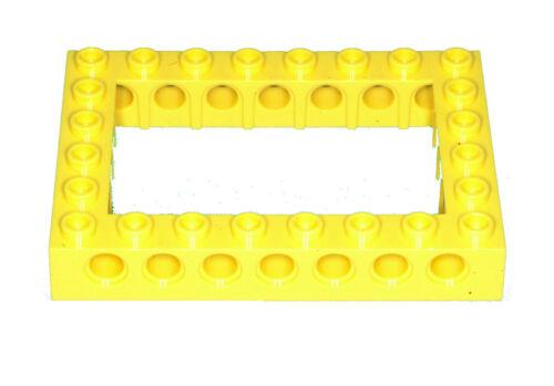 Missing Lego Brick 32532 Yellow Technic Brick 6 x 8 with Open Center 4 x 6
