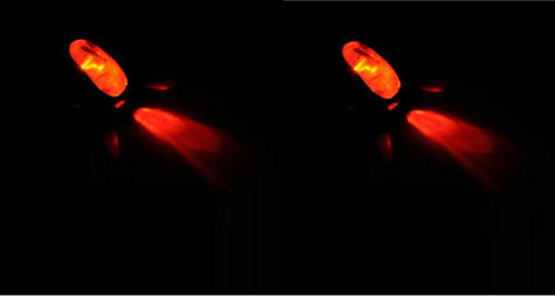 2 GICLEUR LAVE GLACE PEUGEOT 307 LED ROUGE 12V NEUF