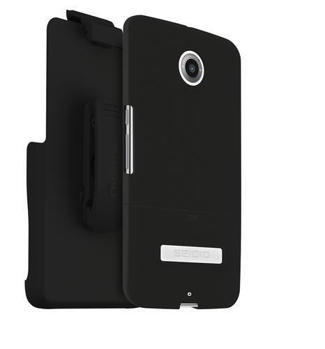 Seidio Dilex Pro Combo Holster & Case For Motorola Nexus 6 AT&T Sprint T-Mobile