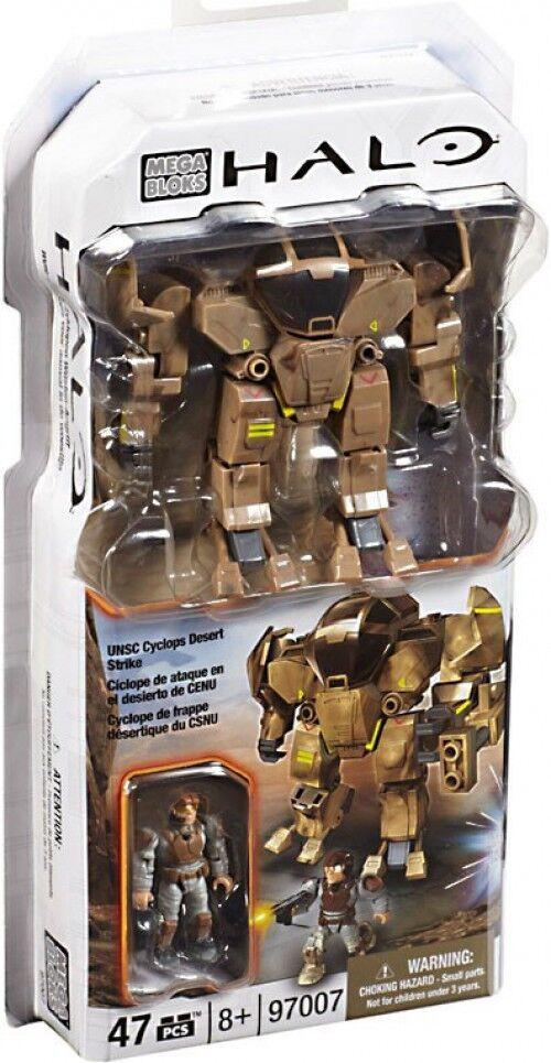 Mega Bloks Halo UNSC Cyclops Desert Strike Strike Strike Set 65e687