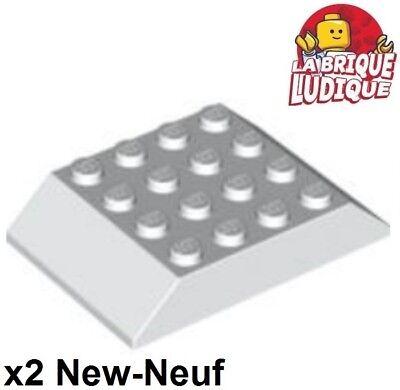 4x slope brique pente inclinée 45 2x1 jaune//yellow 3040 NEUF Lego