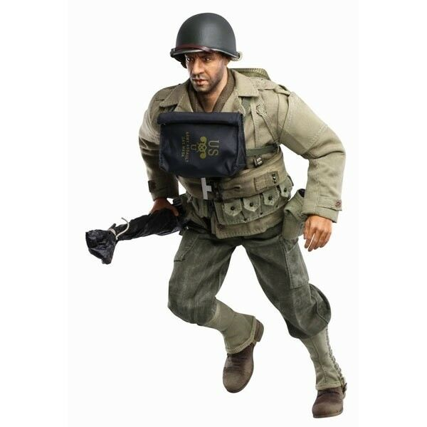 Dragon 1 6 Scale 12  WWII US Ranger Private 1st Class Cappy Action Figure 73166