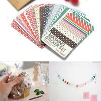 27PCS/LOT Washi Scrapbook Masking Stickers Tape Craft Pack Decorative Labelling