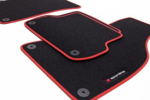 2012-2018 Sportline Fußmatten für Honda CR-V 4 ab Bj