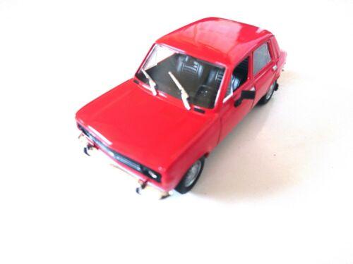 Zastava 1100-1:43 DIECAST MODELL AUTO CAR USSR DeAGOSTINI P36