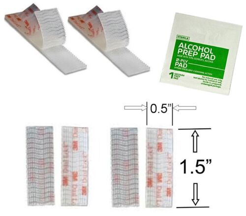 EZ Pass Mounting Kit 2 Sets of Peel-and-Stick Strips with 3M Dual Lock Tape