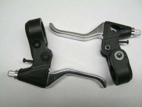 PAIR CYCLE BRAKE LEVERS Universal MTB CITY TREK TOWN BMX New With Cables TG8149C