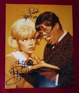 8-034-x-10-034-Autographed-Photo-includes-COA-Jerry-Lewis-amp-Stella-Stevens