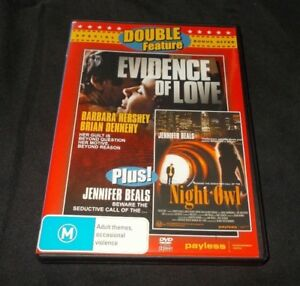 EVIDENCE-OF-LOVE-NIGHT-OWL-DVD-LIKE-NEW-REGION-FREE
