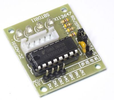 5V 12V ULN2003 Step Motor 4 Phasen Schrittmotor Treiberplatine Modul für Arduino
