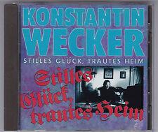 KONSTANTIN WECKER- STILLES GLÜCK, TRAUTES HEIM / CD (GLOBAL MUSICON 1989)