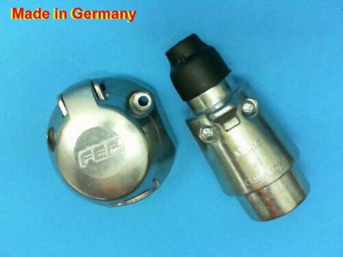 Kabel  L1102 Stecker//Steckdose 7 Polig 6 Volt oder 12 Volt Metall Anhänger