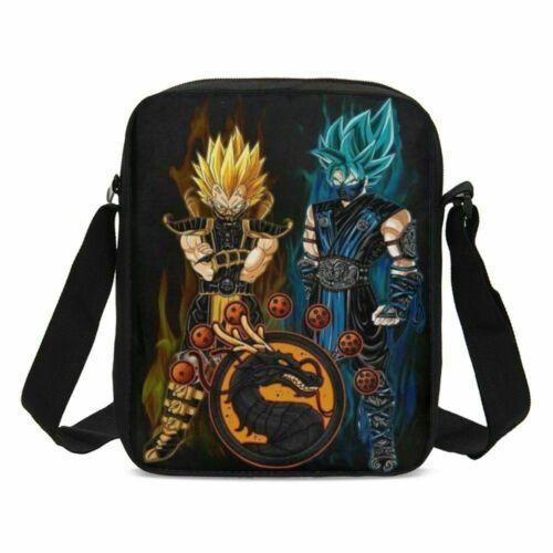 Dragon Ball Z Boys School Bag Backpack Lunch Box Shoulder Bag Pen Bag Teens Gift