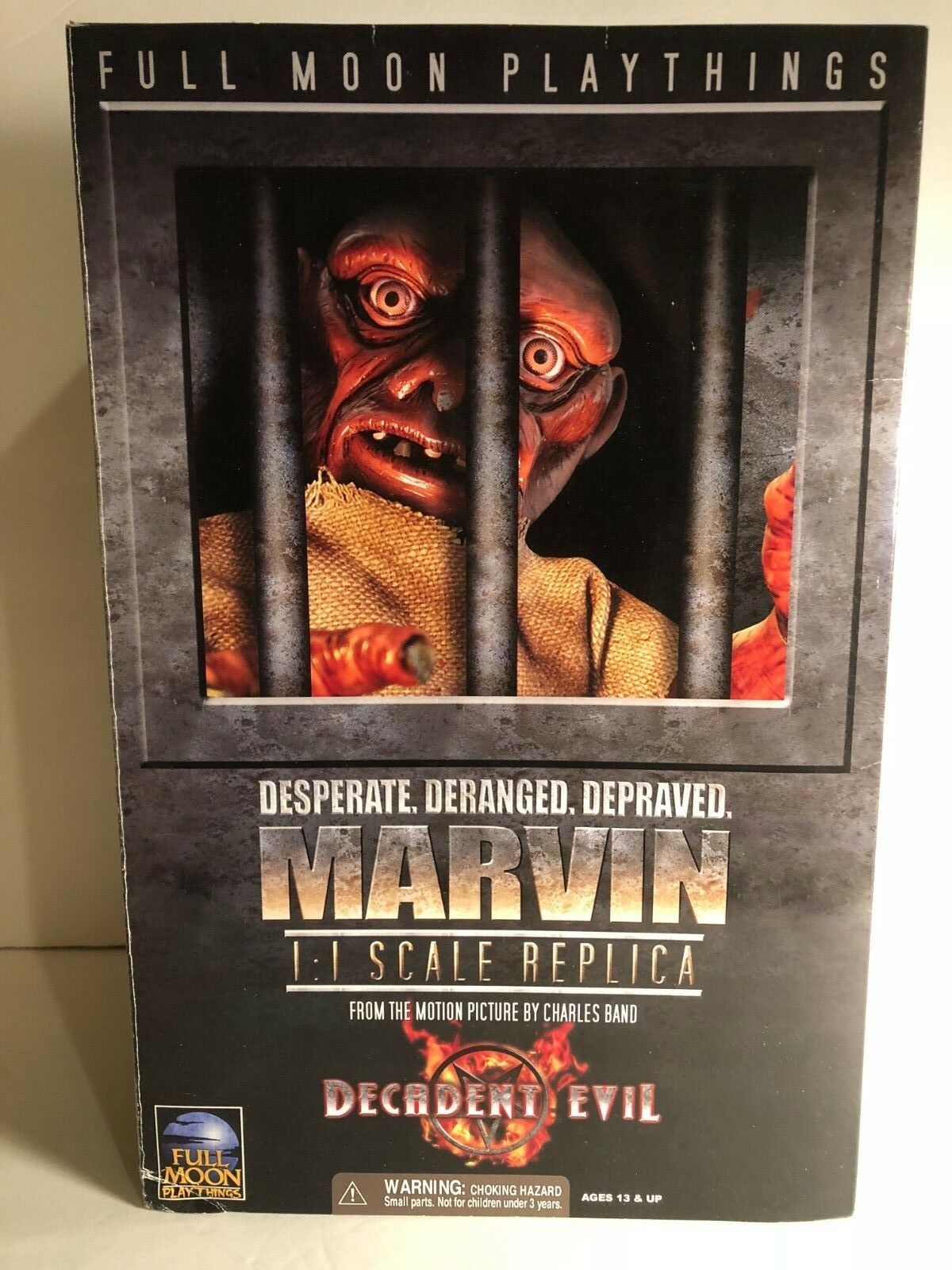 MARVIN Full Moon Playthings Decadent Evil 1 1 Scale 13  Replica Figure NOS
