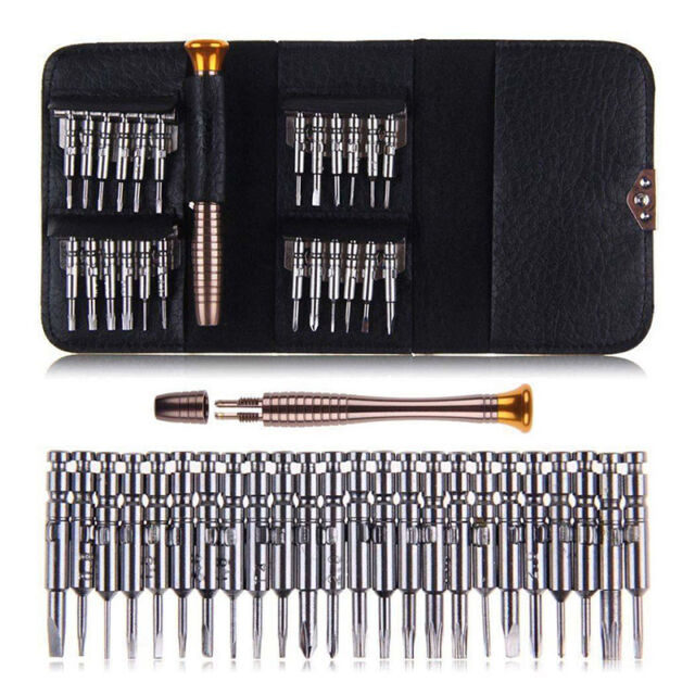 25in1 Mini Precision Screwdriver Set Small Tiny Little Laptop Jewellers  New.AU