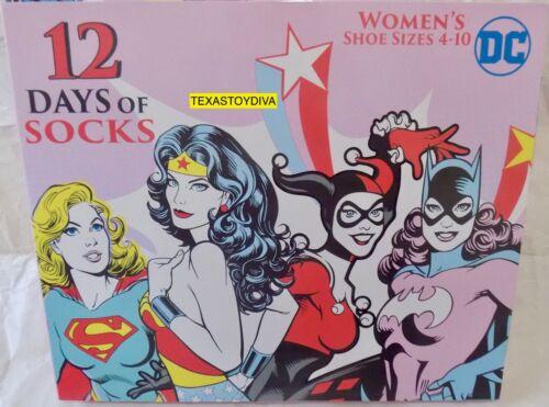 Natale Dimensioni 12 Nuovo Character scarpe Days 10 4 donna Regalo Of Dc di da Comics Socks Hzq1R1