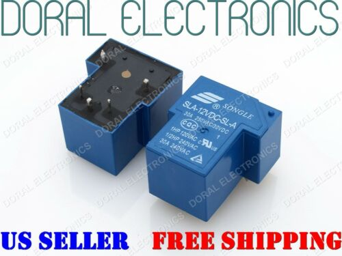 1 PC SLA-12VDC-SL-A songle Relé 12VDC 30A 250VAC 30VDC 5 Pin 12V DC 12 voltios V