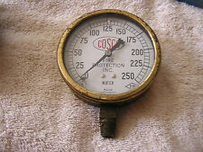 Vintage Cosco Fire Protection Inc. Water Gauge Marsh Instrument Co.