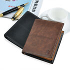Men Short Wallets PU Leather Bifold Credit/ID Card Holder Slim Clutch Purses