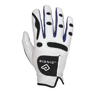 BIONIC-Mens-PerformanceGrip-Golf-Glove-Right-For-Left-Hand-Golfer-White