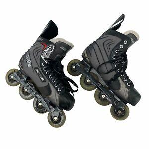 Bauer XR2 Vapor Roller Hockey Inline Skates Men's Size 7.5 R (Shoe Size 9) *READ