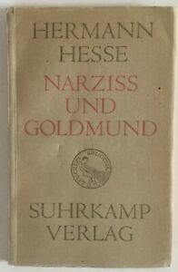 Details About Herman Hesse Narziss Und Goldmund Softcover German 1930