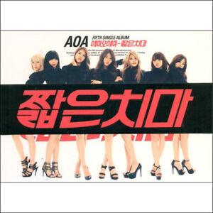 AOA-Miniskirt-5th-Mini-Album-CD-Booklet-New-Sealed-KPOP