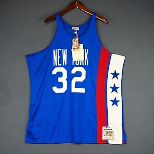 18b2e6883 100% Authentic Julius Erving Dr J Mitchell   Ness NY Nets Jersey ...