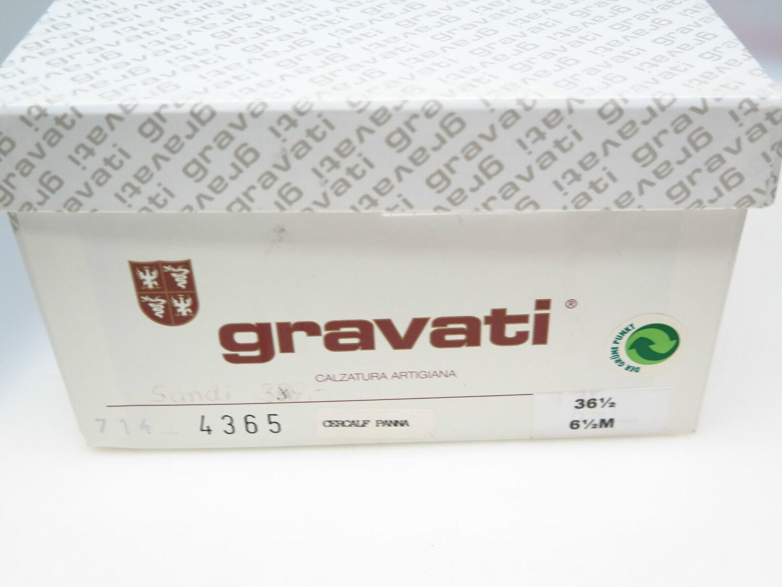 GRAVATI Cercalf Designer Damenschuhe Sandi 4365 Cercalf GRAVATI Panna UK 6,5 Gr. 36,5 NEU 4a141b