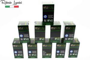 10x Ölfilter HIFLO HF652