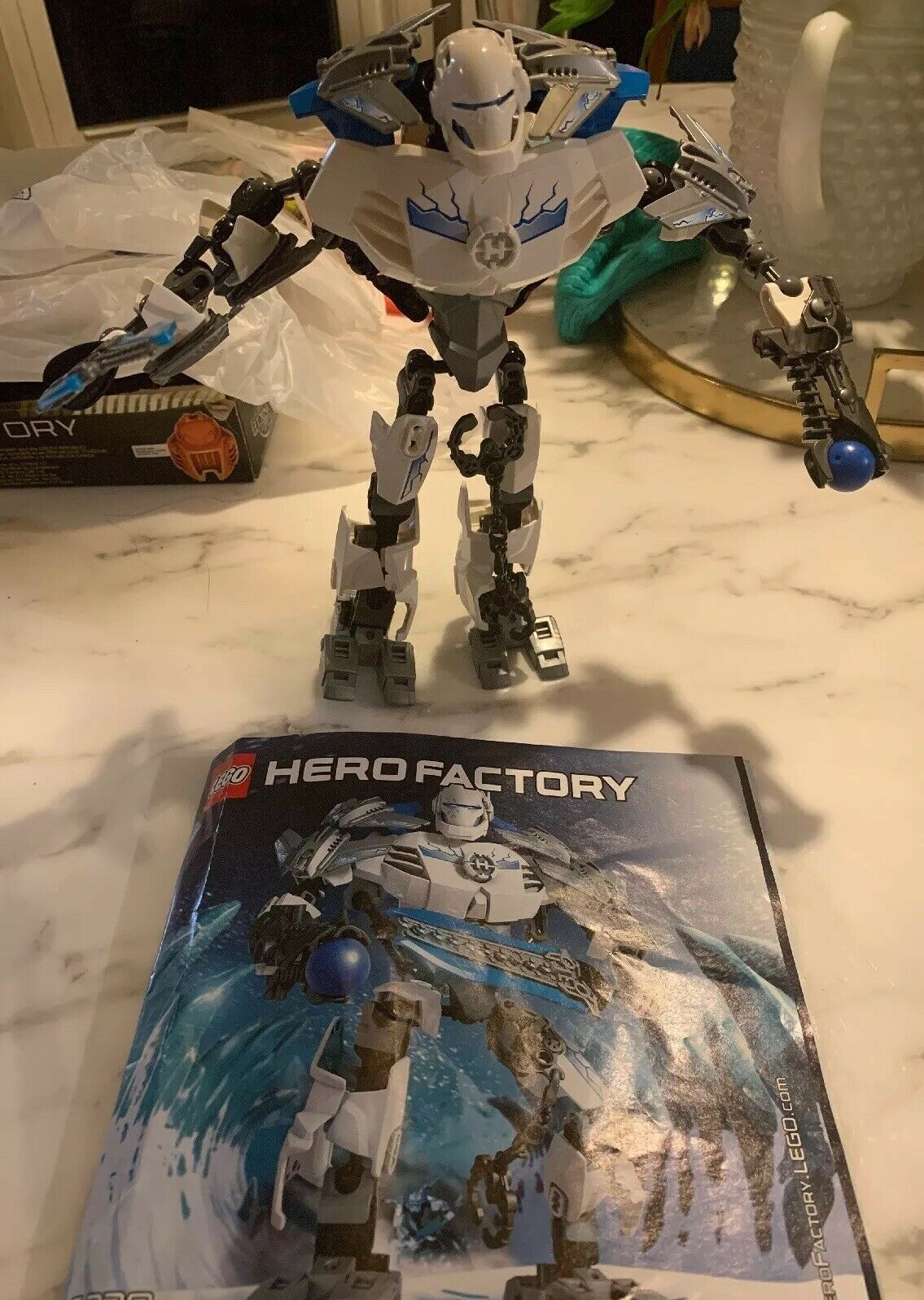 LEGO Hero Factory Stormer XL Set 6230 Complete with Instructions No Box