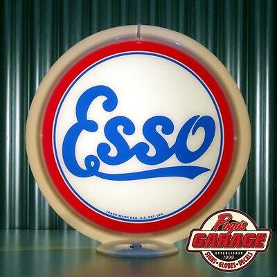 "Imperial Oil /""3 Star/"" Gasoline 13.5/"" Gas Pump Globe Made by Pogo/'s Garage"