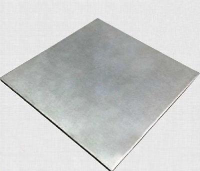 1PC Titanium plate Ti Titan Gr.5 Gr5 Grade 5 Platte Sheet 2 x 100 x 100 mm