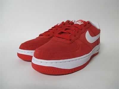 Nike Air Force 1 Low Suede Mens Shoes University Red White