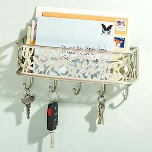 Image Is Loading Key Rack Letter Holder Mail Organizer Wall Mount