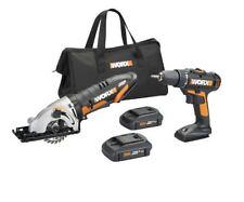"""WORX WX945L 20V Drill Driver & 3-3/8"""" Worxsaw Combo Kit"""