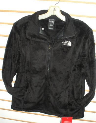 The North Face Osito 2 Full Zip Silken Fleece Jacket Black Womens Large |  eBay