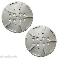 2pk 10 Concrete Grinding Head For Edco Blastrac Grinders 10 Seg 5060 Grit