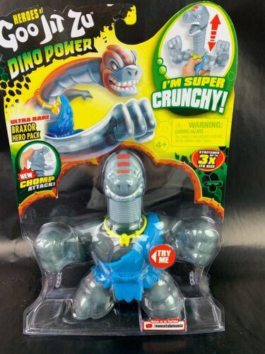 Heroes of Goo Jit Zu Dino Power Brachiosaurus Braxor Ultra Rare Chomp Attack