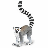 Ring-tailed Lemur Wildlife Figure Safari Toys Educational Kids Collect