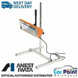 Anest Iwata 1kw Infrared Paint Drying Heat Lamp Smart Infra Red Dryer Amp Stand Ebay
