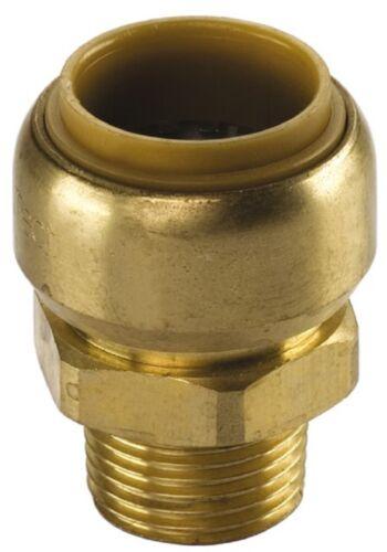 "Kupfer Steckfitting Tectite Übergangsnippel 12 mm auf AG R3//8/"" T243G"