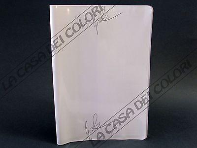 Coprimaxi Laccato - Copertina Per Quaderni A4 - Alettata - Bianco - 1 Pezzo